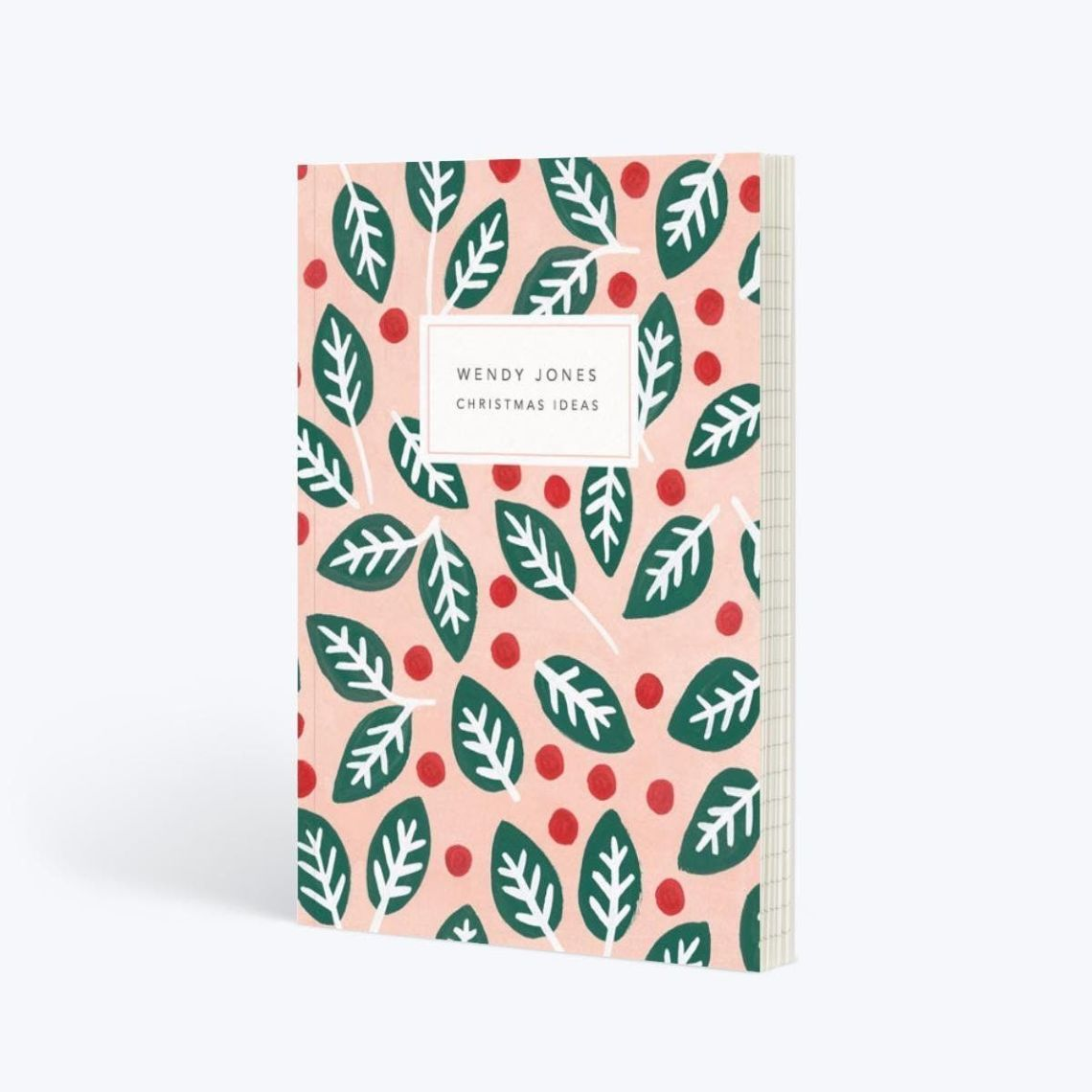 What's a festive notebook gift guide without a festive-themed notebook? Papier have the most beautiful designs, but this A5 lined one is perfect for this time of year. Even better, get it personalised with your name on. Papier. £12.50.