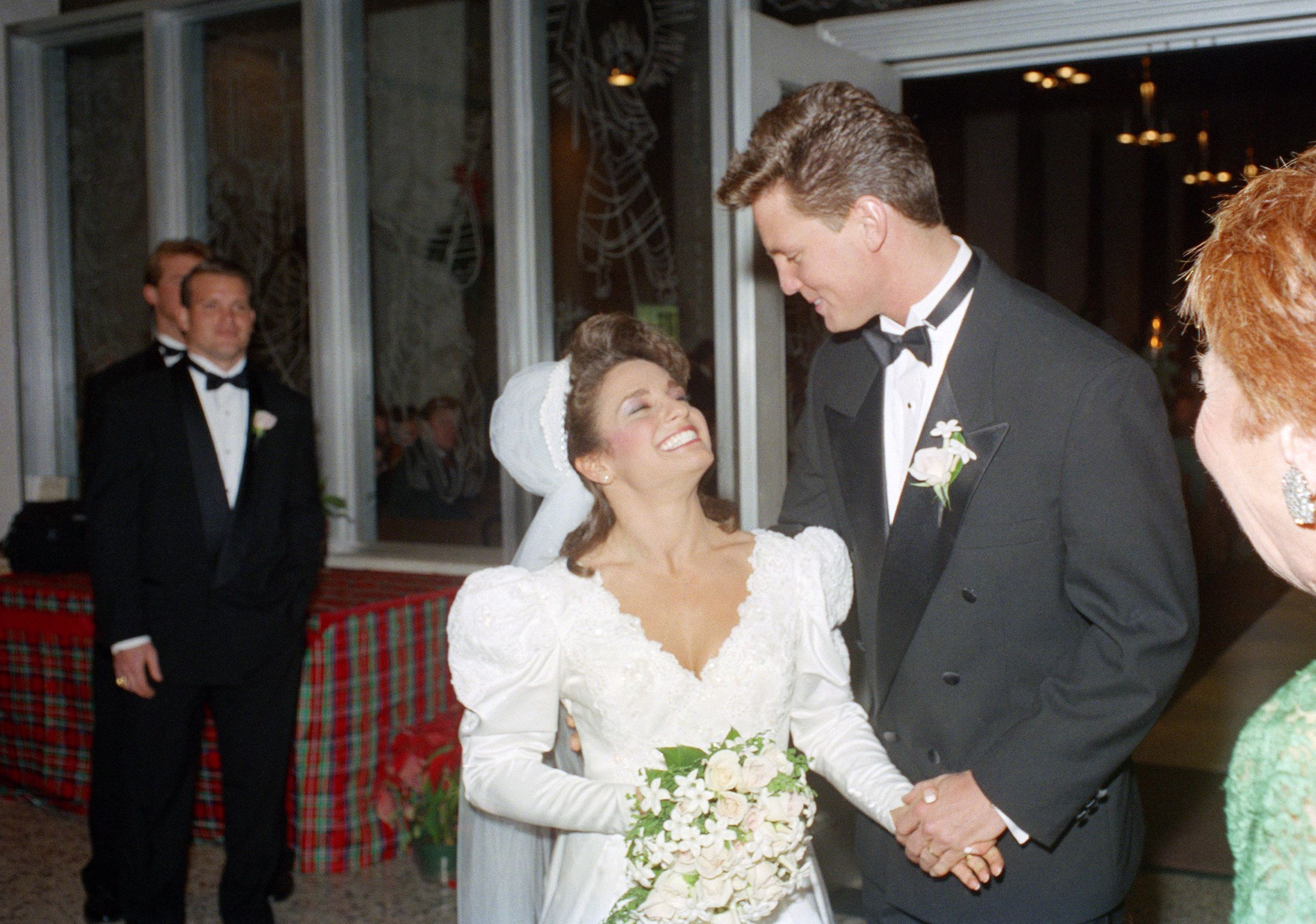 Nadia Comaneci And Bart Conner Wedding