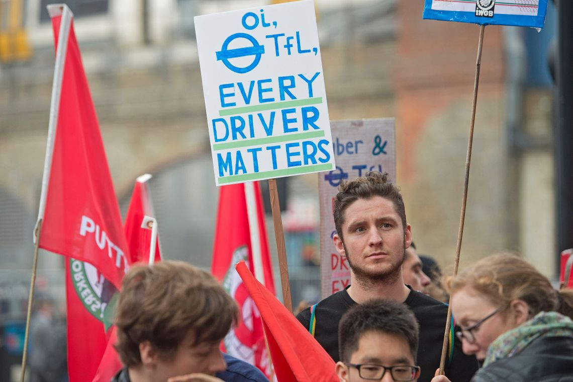 Previous Uber protests targeted the Transport for London (TFL) offices in central London.