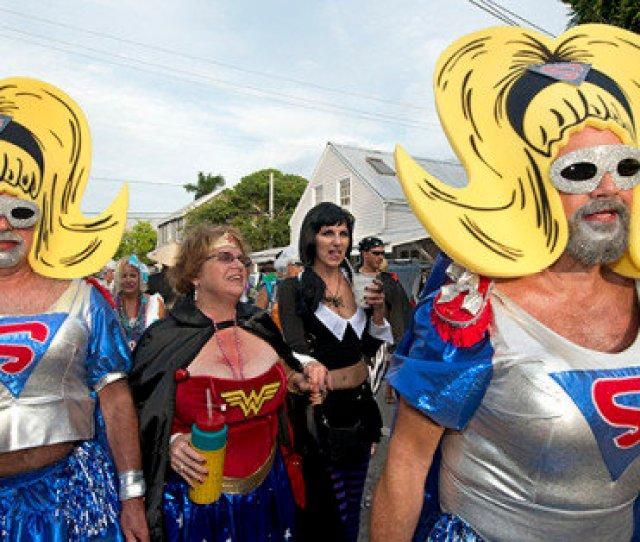 Fantasy Fest Draws Drag Queens Super Heroes And Evil Villains To Florida Keys Photos