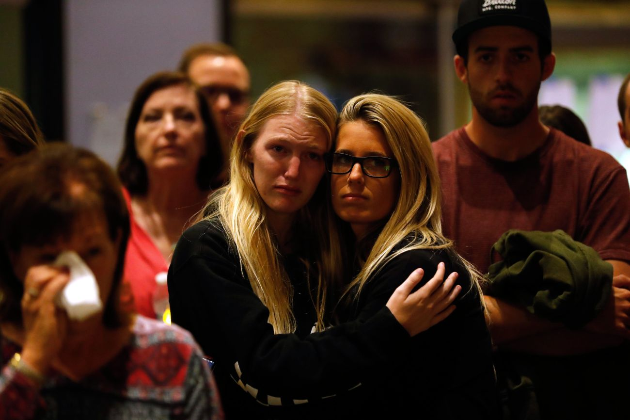 """Hope has sustained communities, very much like Thousand Oaks, through the exact same triages of mass shootings,"""