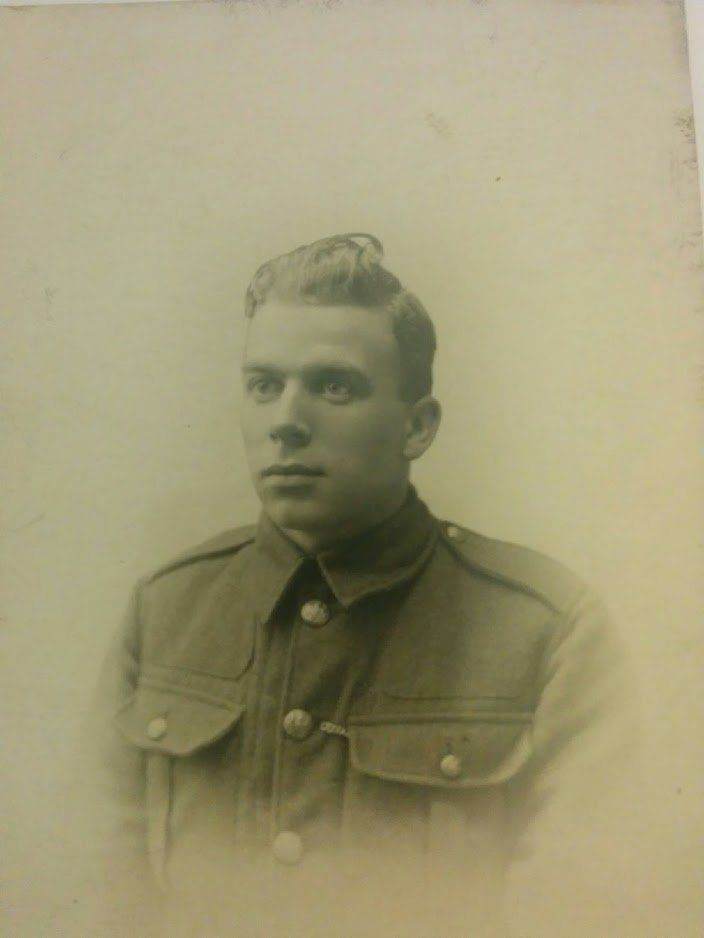Albert Hopkins served in the Gloucester Regiment