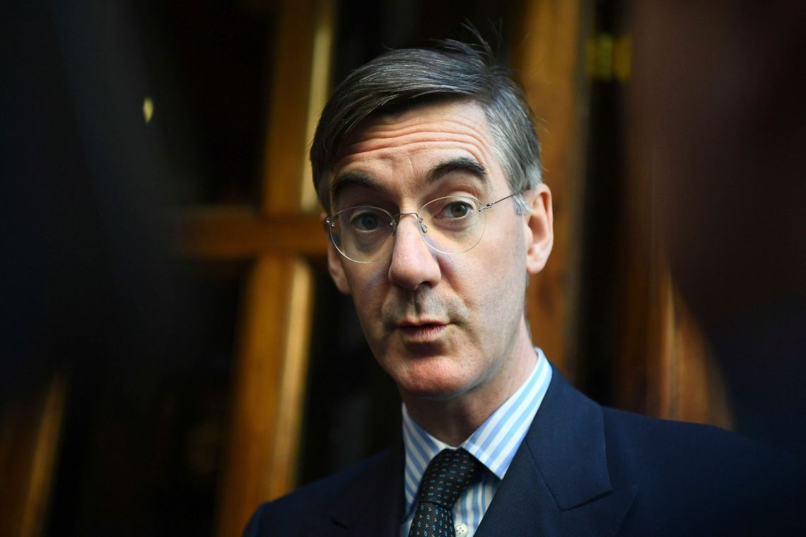 European Research Group chairman Jacob Rees-Mogg