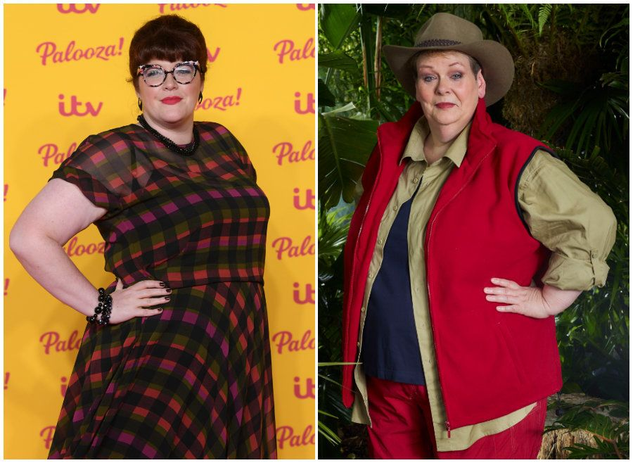 Jenny Ryan and Anne Hegerty