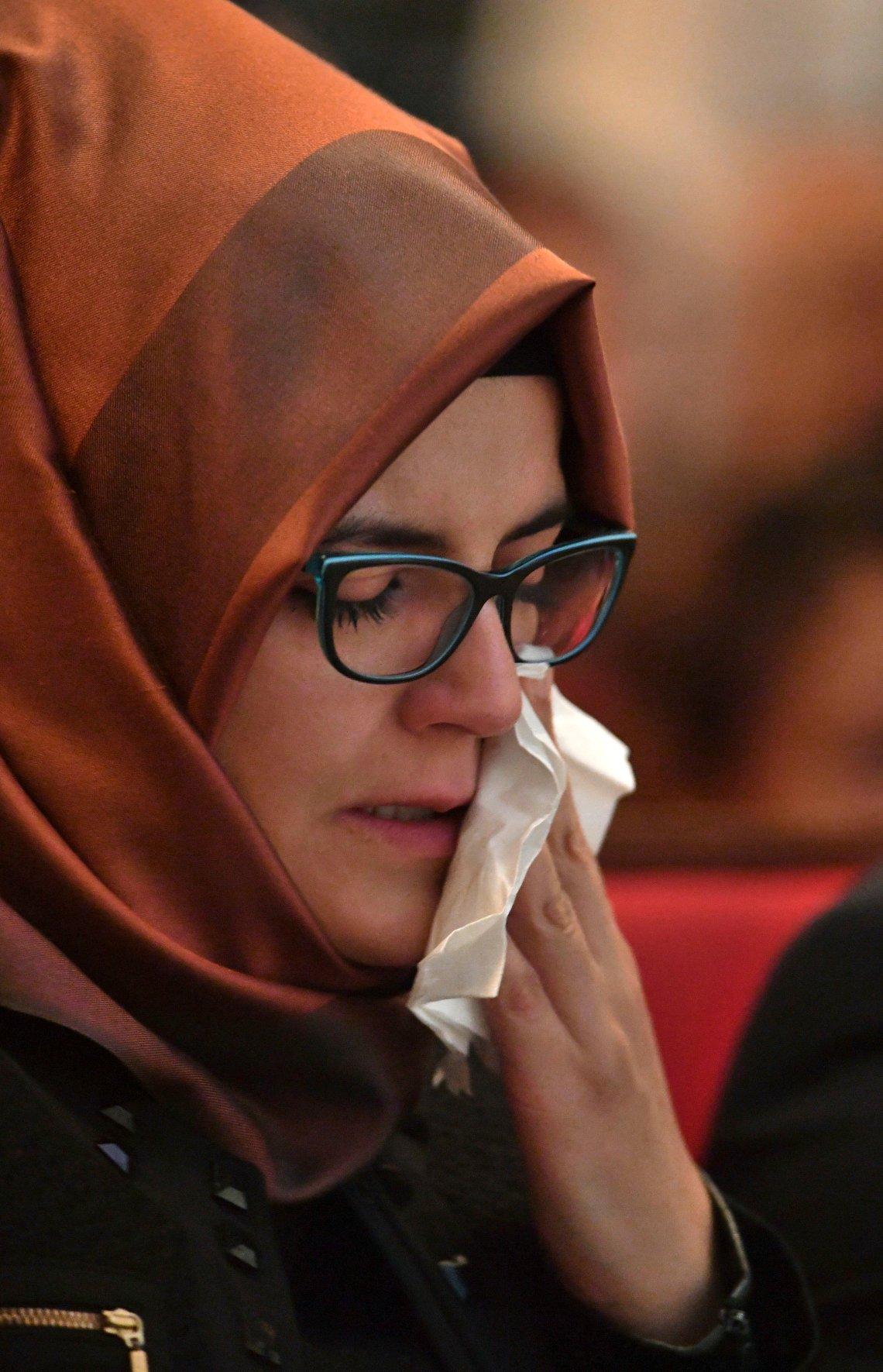 Hatice Cengiz, Jamal Khashoggi's fiancee