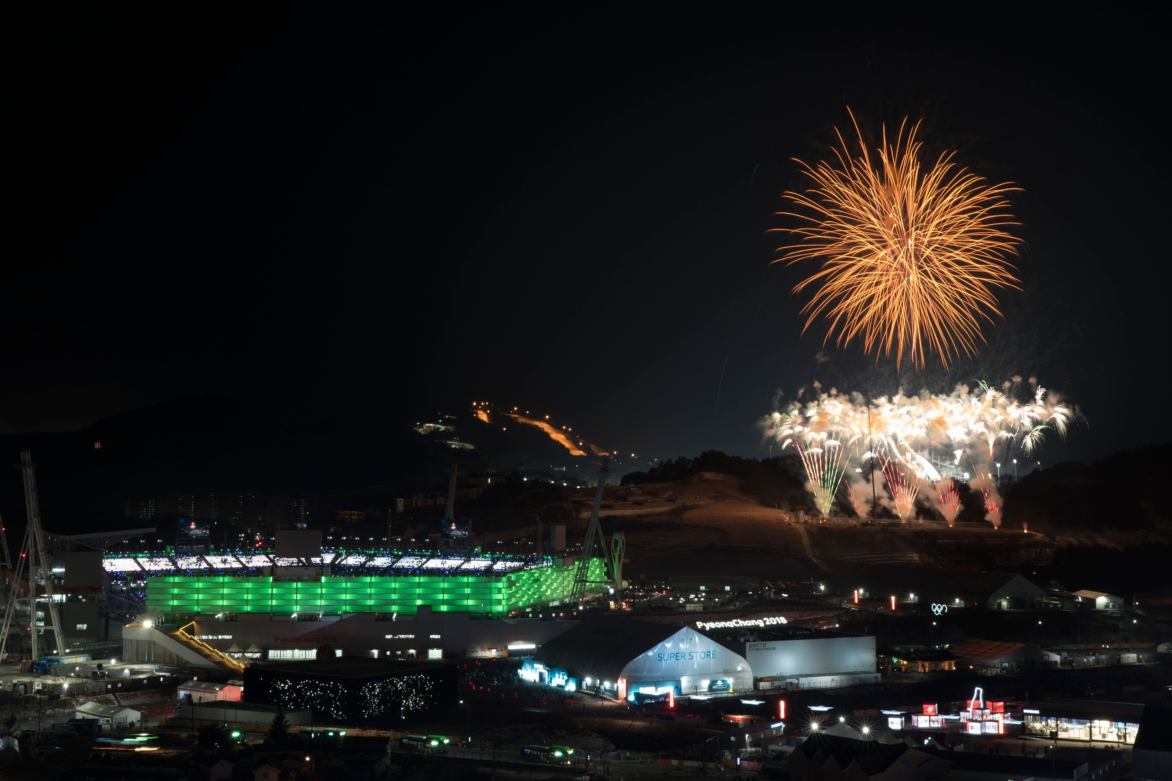 The day with the most tweets was that of the 2018 Winter Olympics closing ceremony.