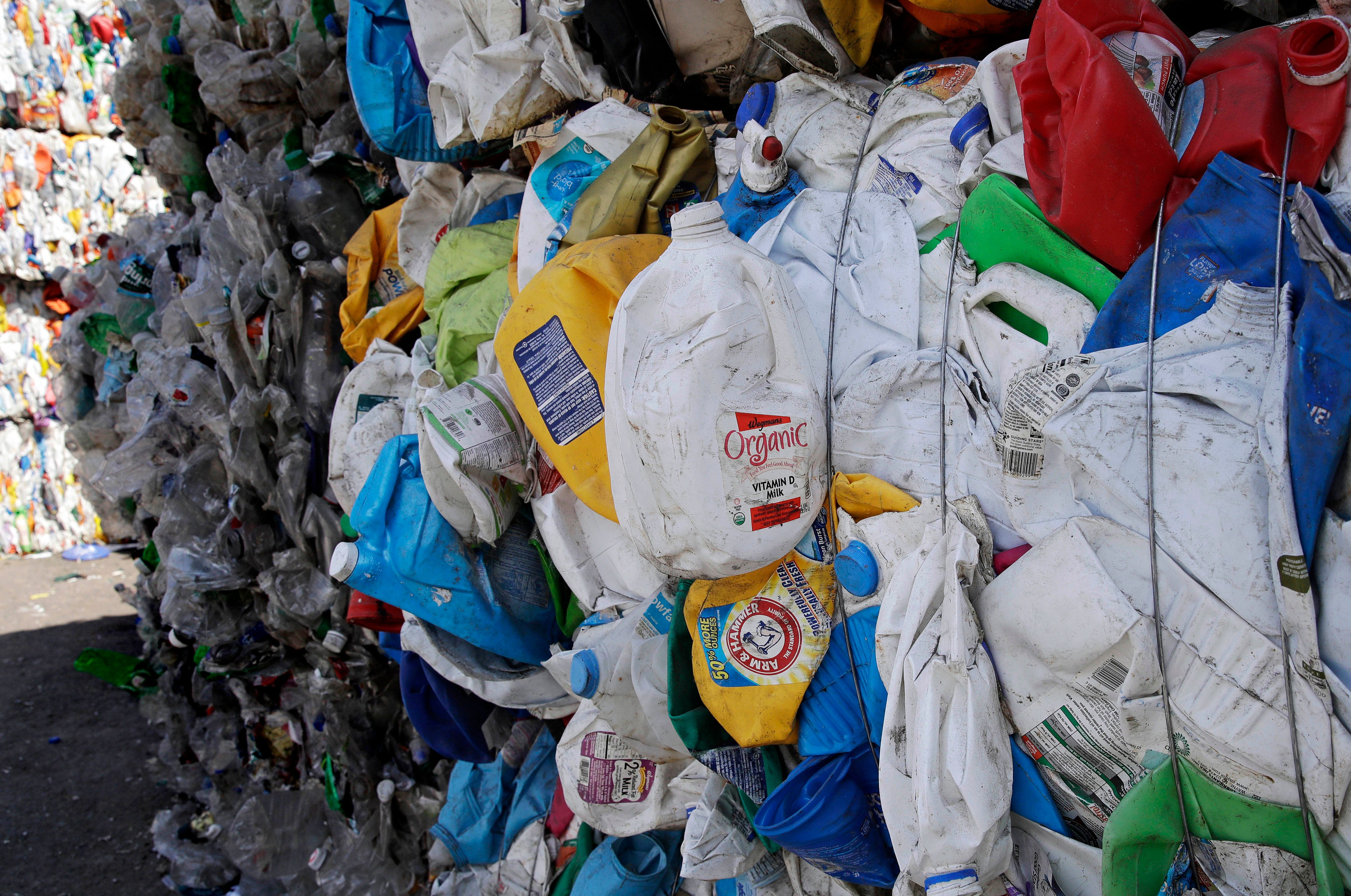 Global plastic production has increased from 16.5 million tons a year in the 1960s to over 364 million tons a year now and is