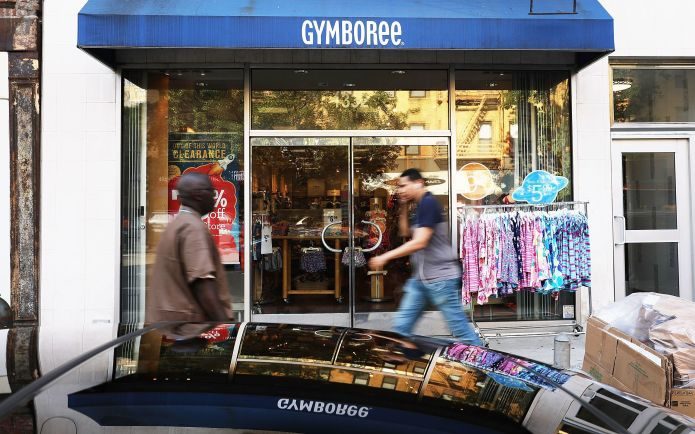 In 2017, Gymboree, a major children's retailer, filed for bankruptcy. The company rebranded and relaunched in July.