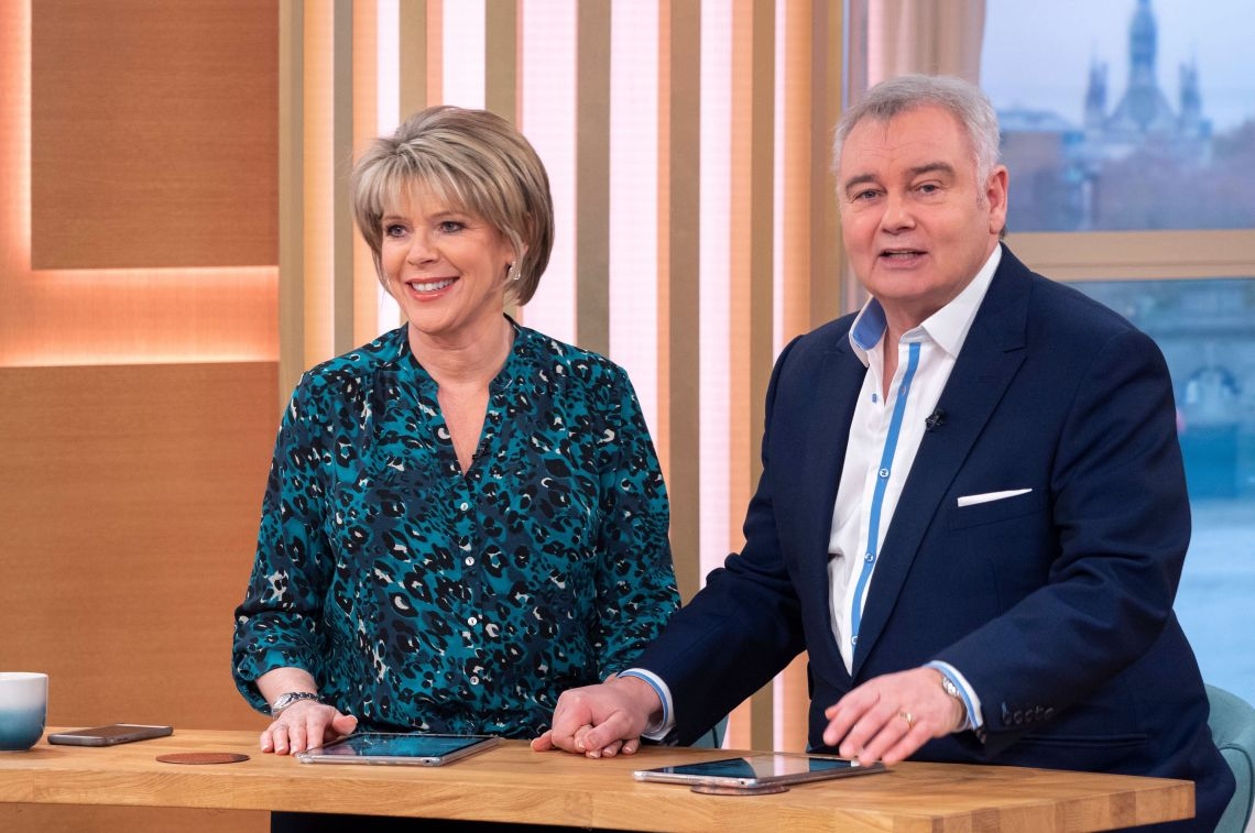 Ruth and Eamonn will be brightening up the weekends