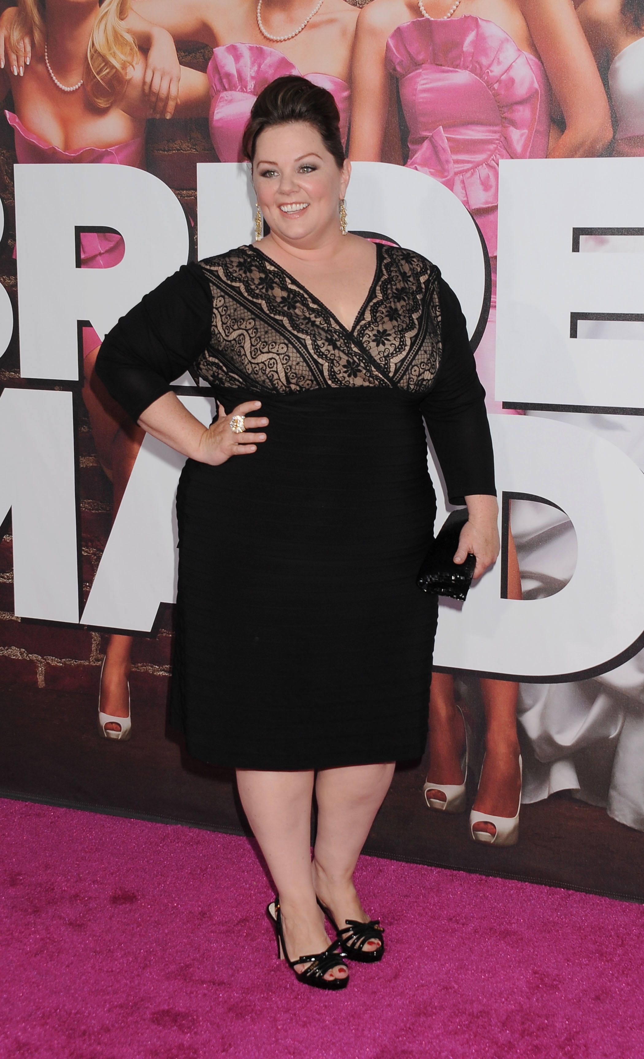 """Melissa McCarthy attends the premiere of """"Bridesmaids"""" in 2011."""
