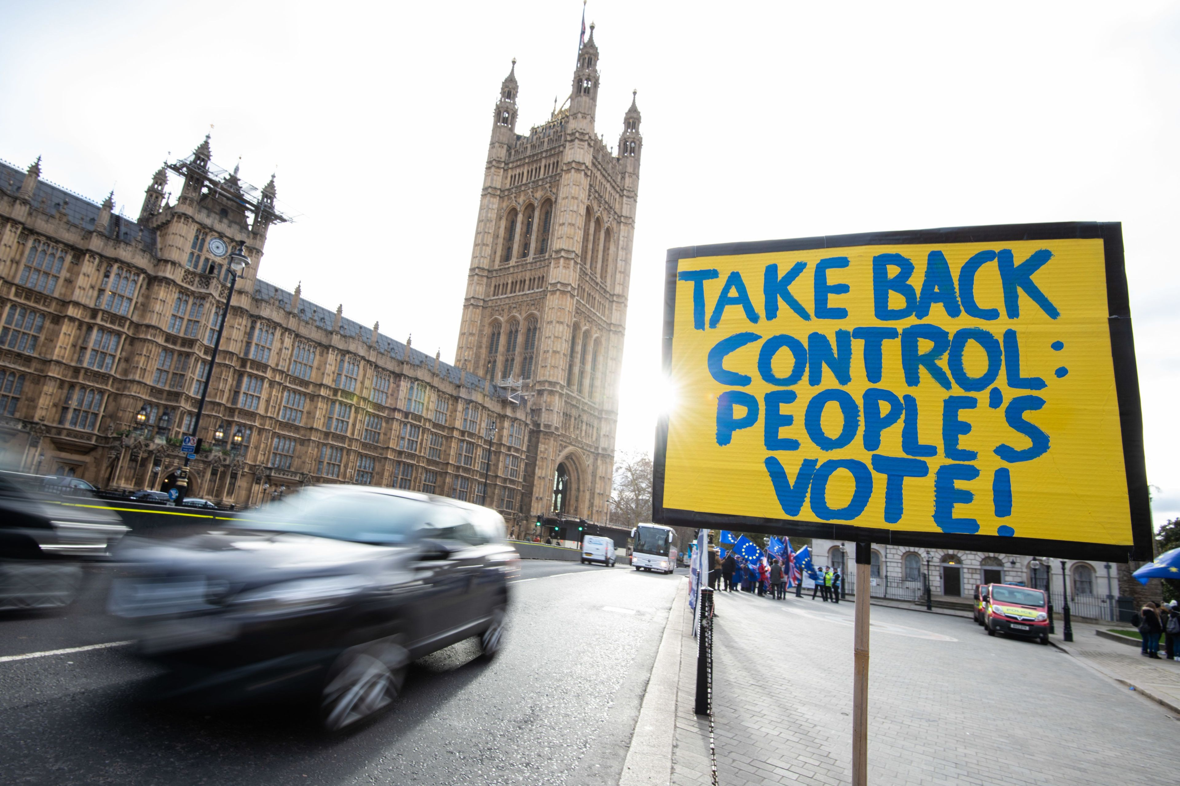 A cross-party group of MPs who back a People's Vote shall meet near Parliament on Wednesday morning.