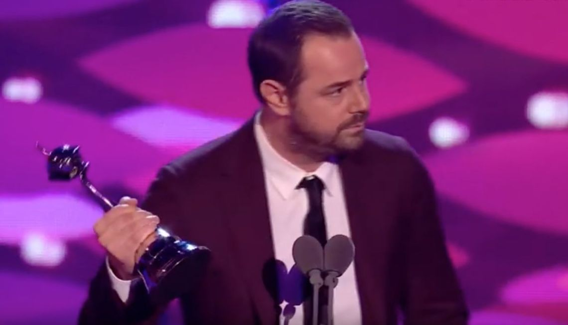 Danny Dyer at the NTAs