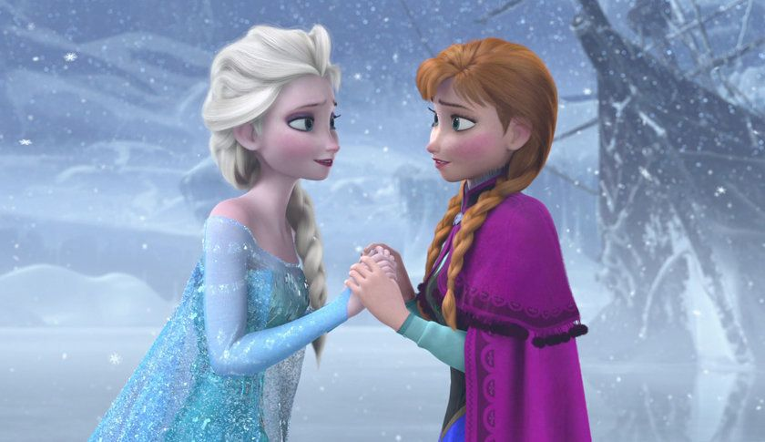 "A scene from Disney's ""Frozen"""
