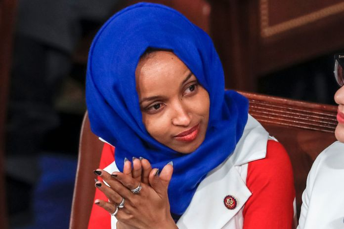 Rep. Ilhan Omar, D-Minn. apologized on Monday for tweets suggesting that Congress members support Israel ...
