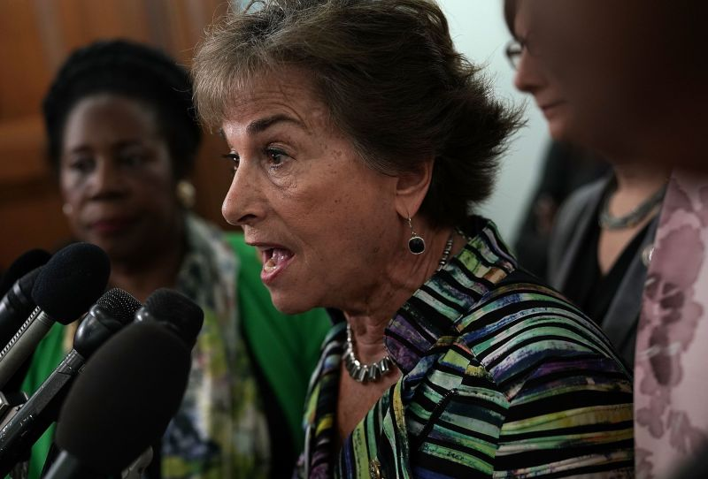"""Rep. Jan Schakowsky (D-Ill.), who collaborated with DeLauro on the """"Medicare for America"""" bill, is a longtime advocate of gov"""