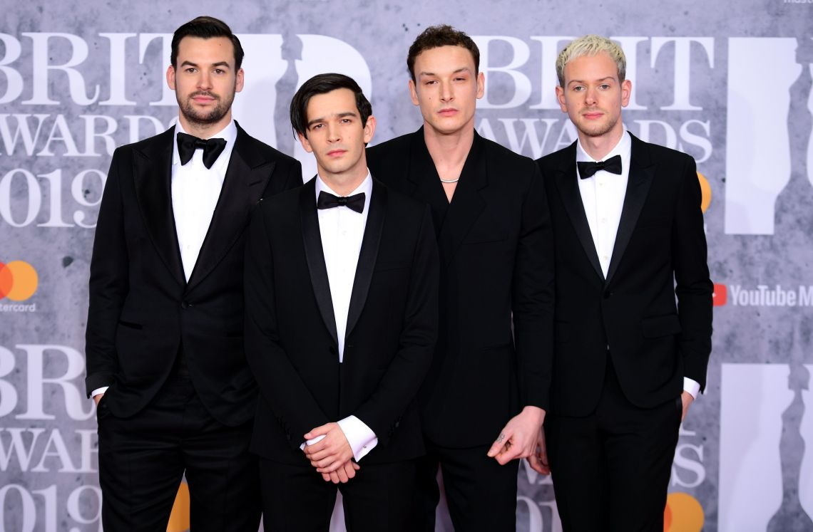 The 1975 at Wednesday night's Brit Awards