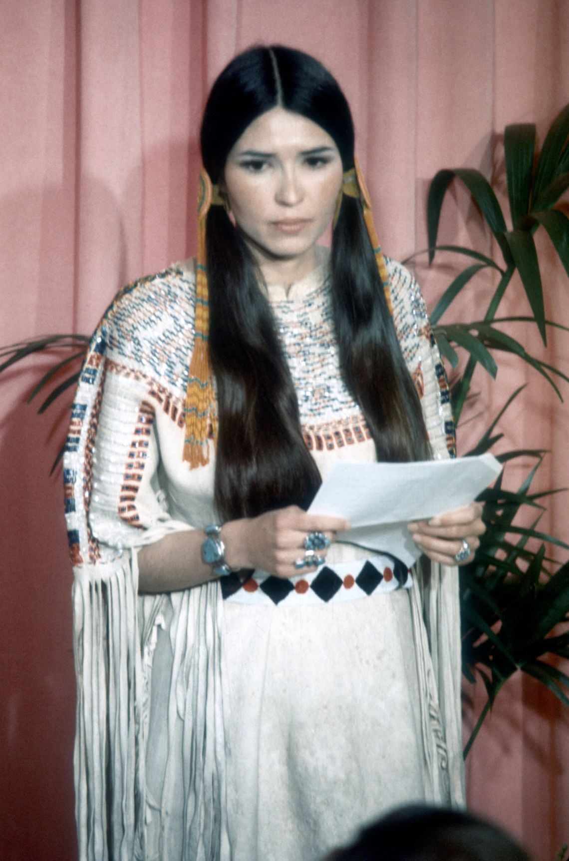 Marlon Brando's win for The Godfather was, without doubt, a Big Deal, so when he refused to show up to collect his award, it raised a lot of eyebrows.Instead, Brando sentSacheen Littlefeather, a Native-American actress who collected the award on his behalf, explaining that he wasn't present because he was protesting Hollywood's portrayal of Native Americans on the big screen.