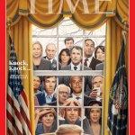 '타임' 표지에 등장한 2020 대선 트럼프의 도전자들