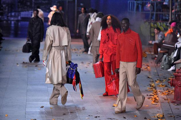 2019年1月17日に、パリで開かれたルイ・ヴィトンの2019秋冬メンズ・コレクション。