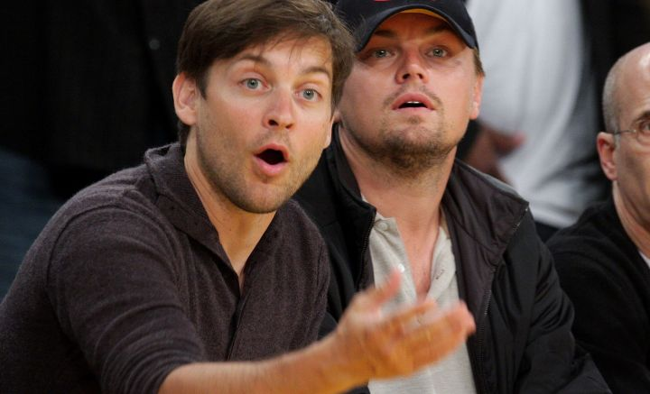 Tobey Maguire and Leonardo DiCaprio met as child actors working in Hollywood,