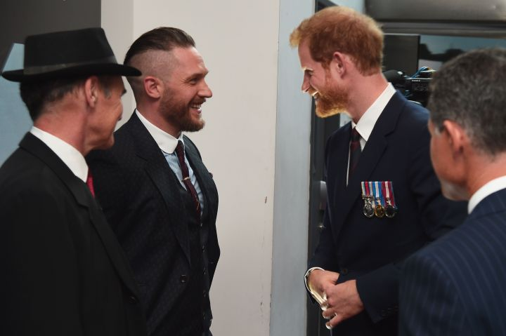 Tom Hardy and his wife, Charlotte Riley, attended Prince Harry's wedding to Meghan Markle.