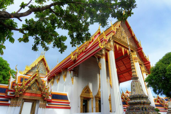 Wat Pho is a gorgeous temple complex in Bangkok.