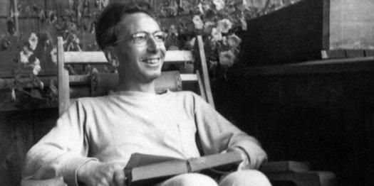 AUSTRIA - CIRCA 1947:  Portrait of Austrian psychologist Viktor Frankl. Photograph. 1947.  (Photo by Imagno/Getty Images)