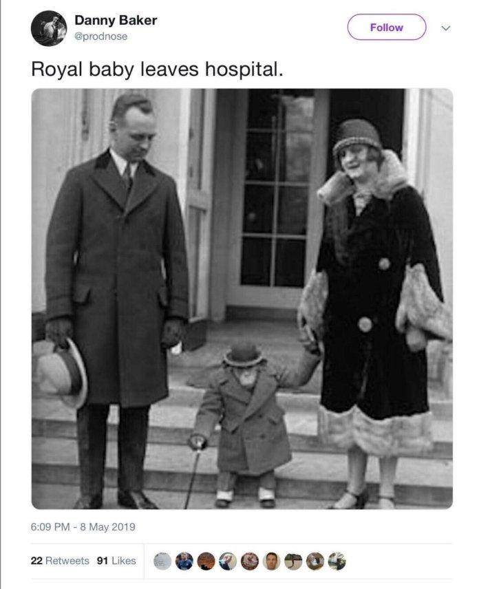 Un periodista de la BBC, despedido por un tuit racista tras el nacimiento del hijo de los duques de