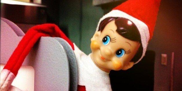 Image result for elf on a shelf