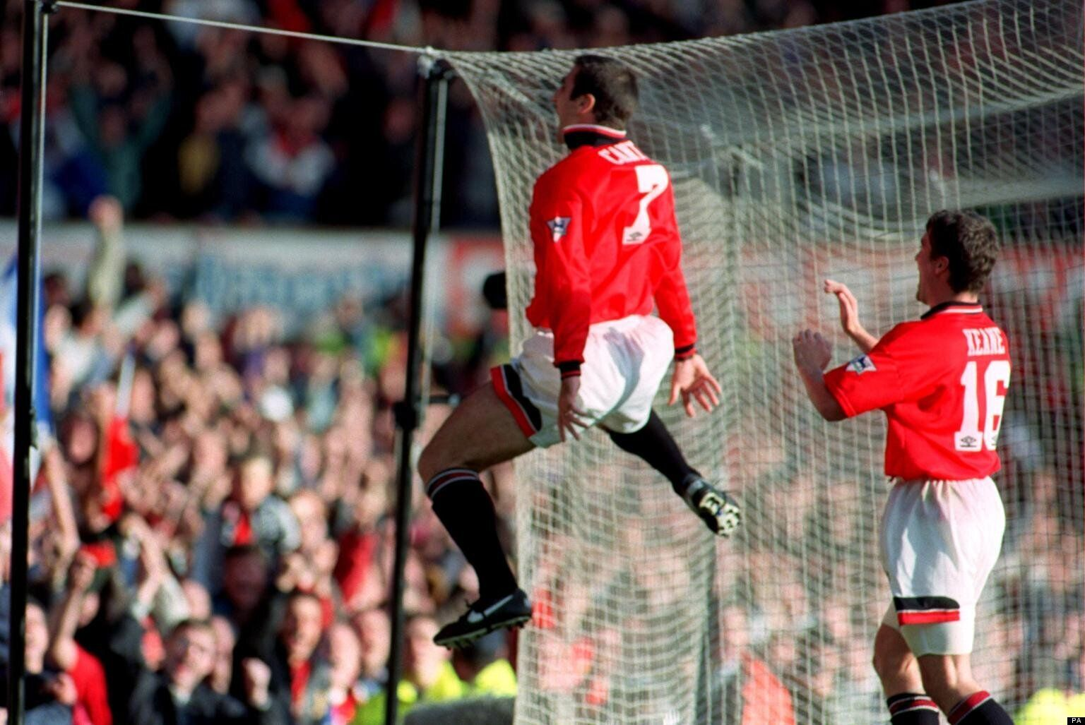 On january 25th 1995 cantona attacked crystal palace fan matthew simmons in one of the most infamous incidents in premier league history. Eric Cantona Kung Fu
