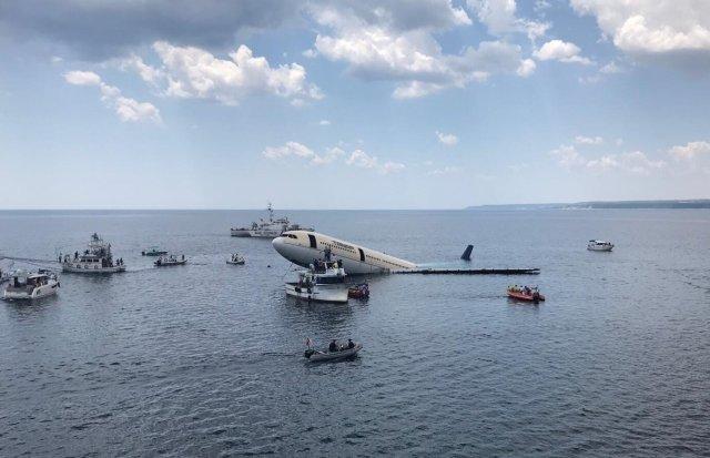 Τουρκία: Βύθισαν αεροπλάνο στη θάλασσα για να ενισχύσουν τον