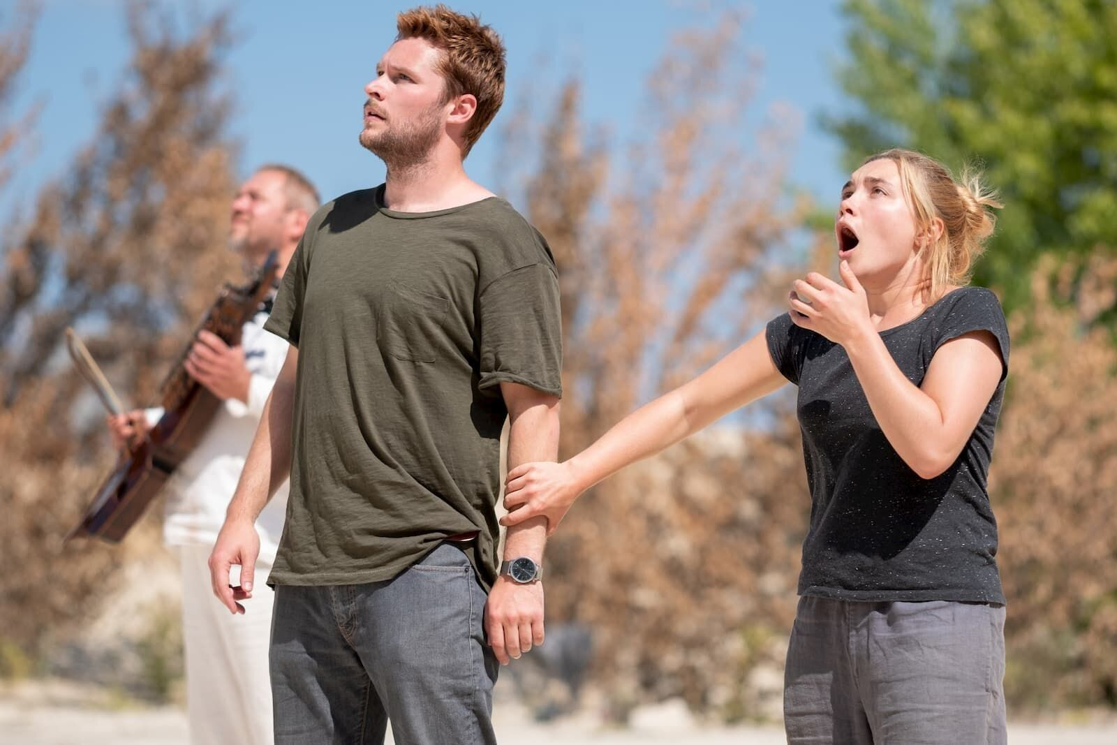"""Jack Reynor and Florence Pugh in """"Midsommar."""""""