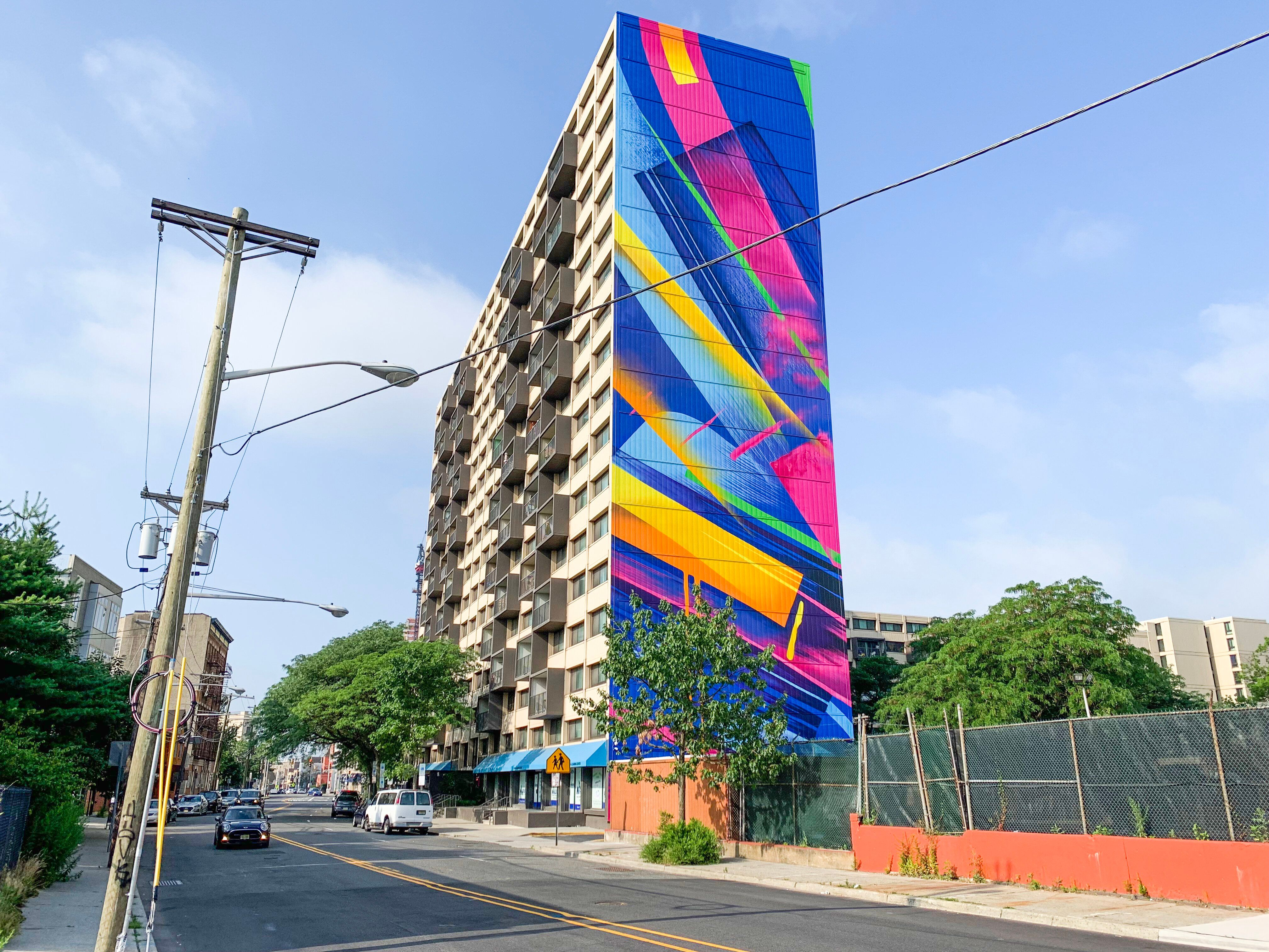 MadC's new mural in Jersey City.