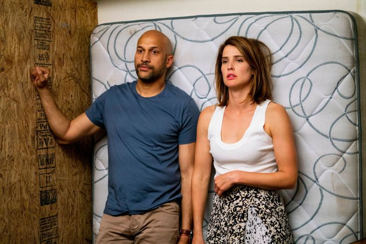 "Keegan-Michael Key and Cobie Smulders in ""Friends from College"""