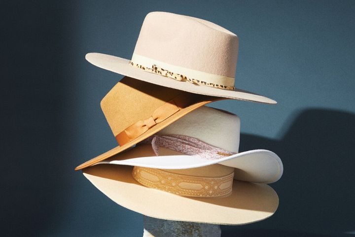 """(Pictured: Various hats at <strong><a href=""""https://fave.co/2ZLfTCh"""" target=""""_blank"""" rel=""""noopener noreferrer"""">Anthropologie</a></strong>)"""