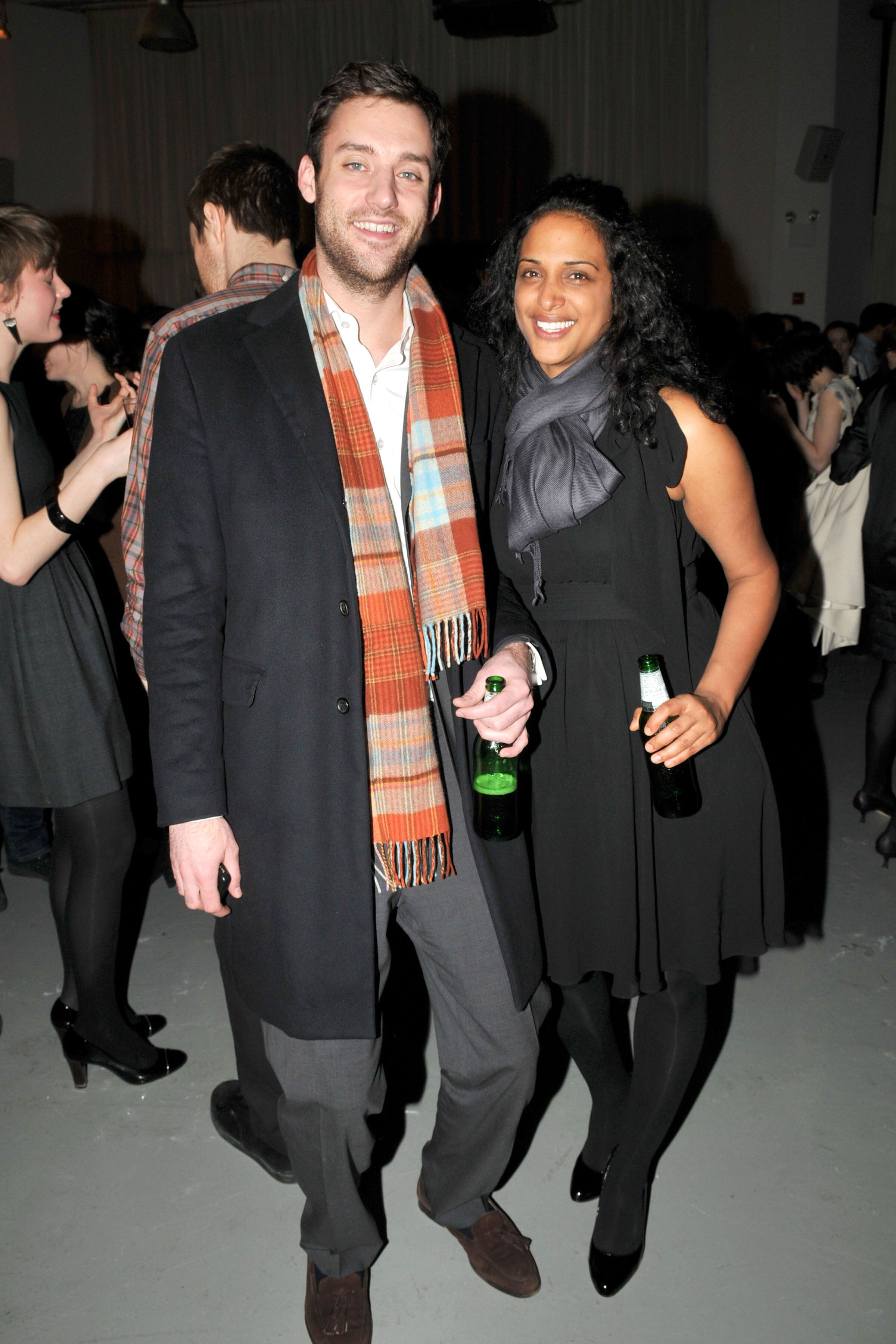Cooke Maroney and Vanessa Riding attend an after-party at Bar 2000 on March 6, 2009 in New York City.