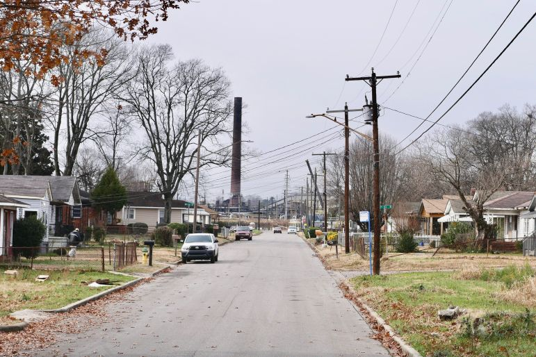 In North Birmingham, residents have a clear view of industry.