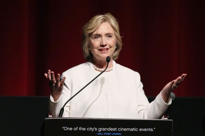 Clinton speaking in New York on Nov. 19, 2015.