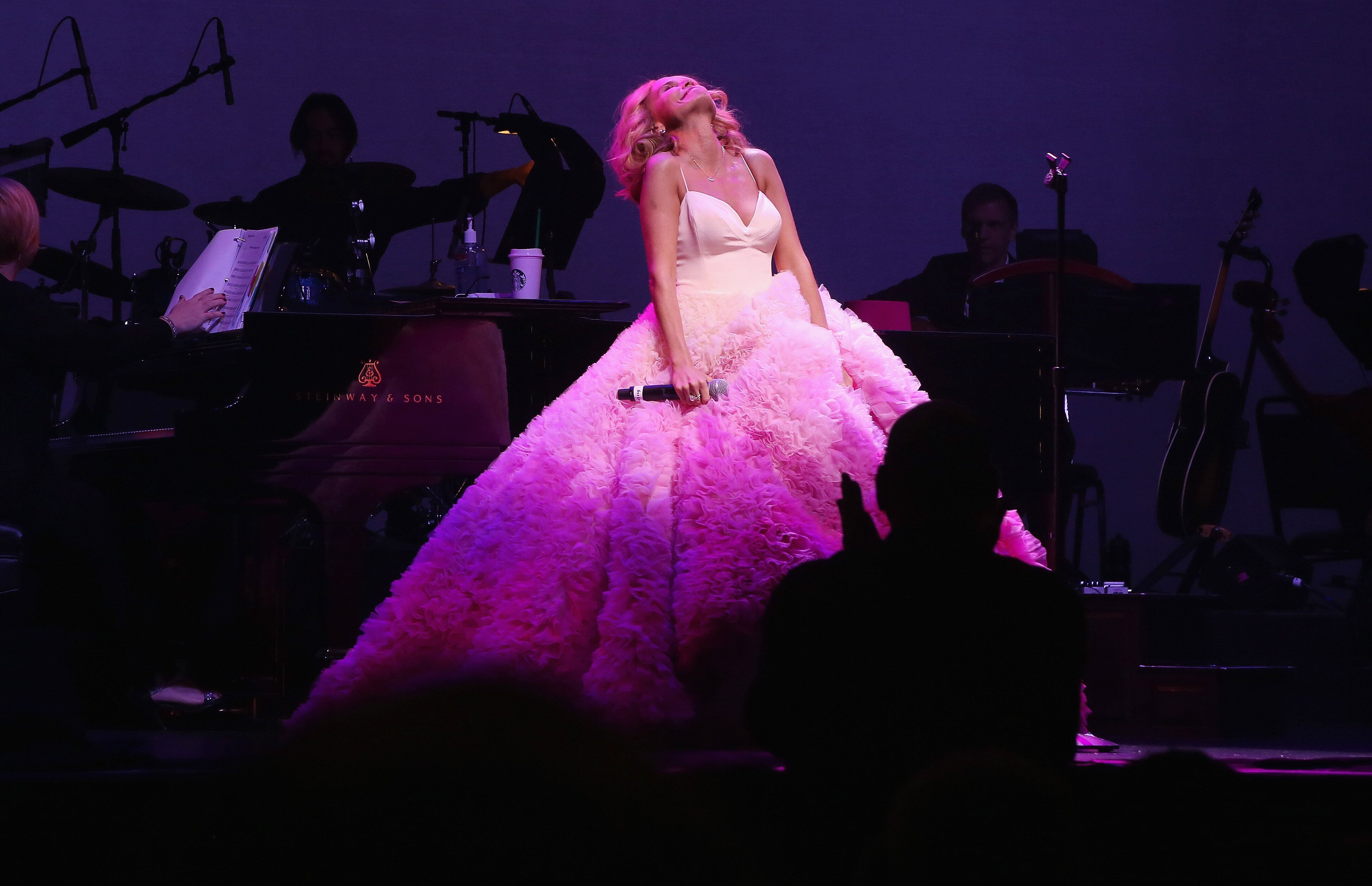 """In 2016, Chenoweth performed her acclaimed solo concert,""""My Love Letter to Broadway,"""" at New York's L"""