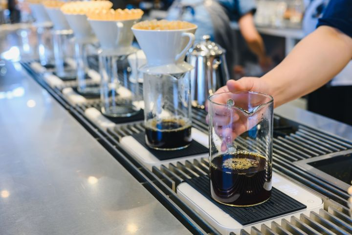 """A good cup of coffee always <a href=""""https://fave.co/2nh9rjV"""" target=""""_blank"""" rel=""""noopener noreferrer"""">starts with the beans</a>."""