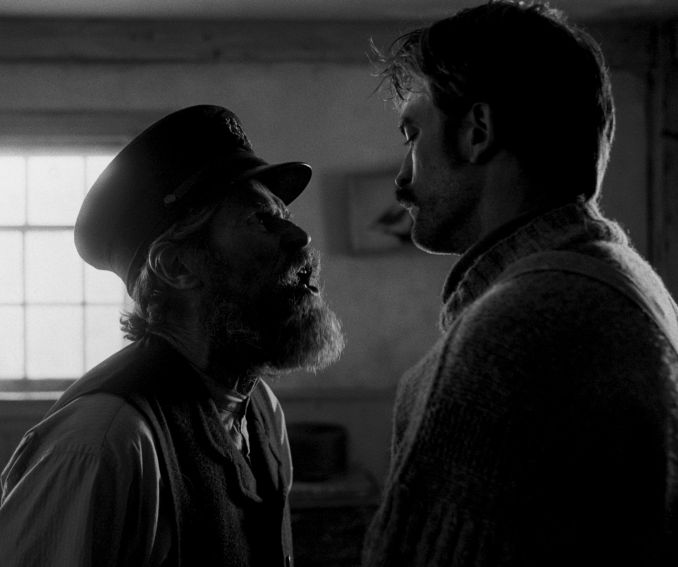 """Dafoe and Pattinson in """"The Lighthouse."""""""