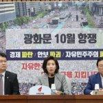 자유 한국당, 조국 없어도 '장외'로 간다