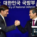 한국과 미국 국방장관이 지소미아와 방위비 분담 문제에 대한 생각을 밝혔다