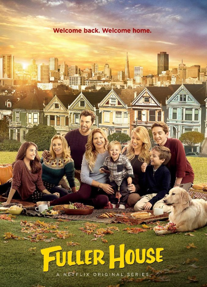 """""""Fuller House,"""" set in the same San Francisco home as the first series, finds Bure's character as the mom of three boys."""