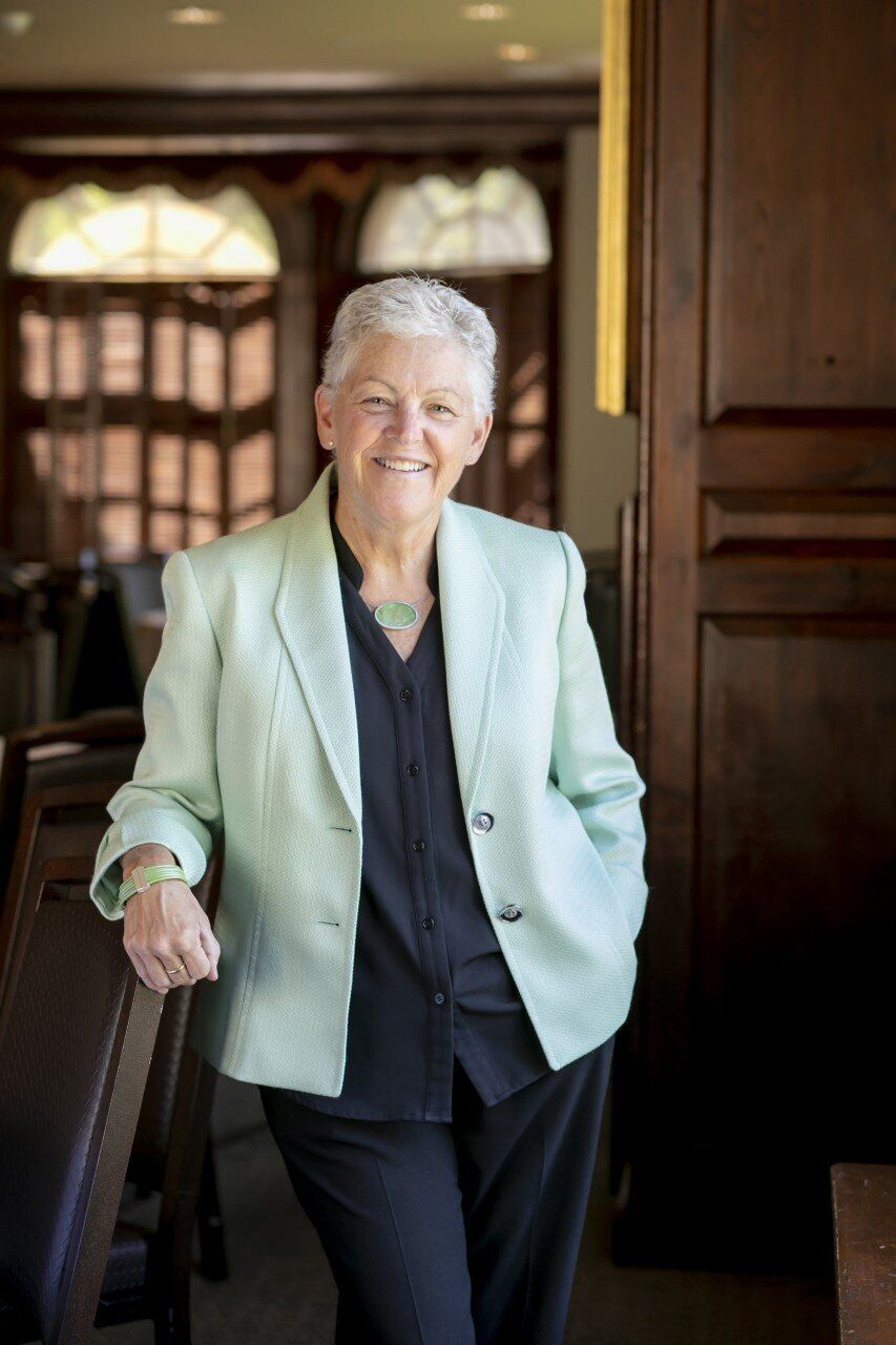 Gina McCarthy, the former head of the Environmental Protection Agency, says young people's passion and energy remind her of her responsibility to act on climate change.