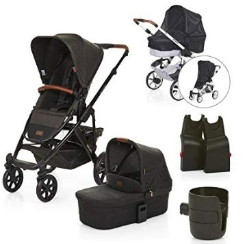 ABC Design 2018 Salsa 4 Pushchair & Carrycot (Piano), Amazon, £459