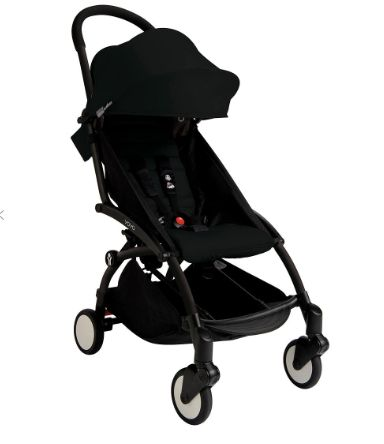 BABYZEN YOYO+ Pushchair, Black/Black, John Lewis, from £389