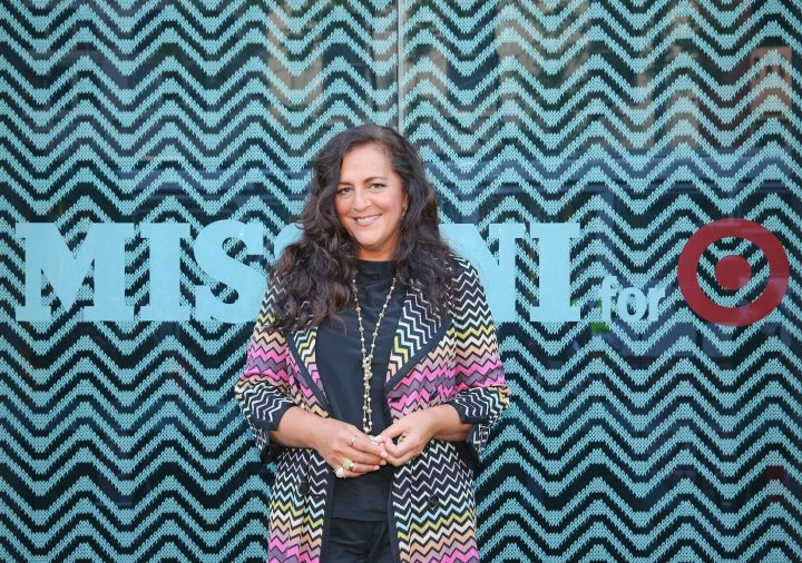 Angela Missoni launches the Missoni for Target collection in Australia on October 8, 2014.