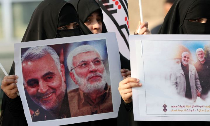 Global powers had warned Friday that the killing of Soleimani could spark a dangerous new escalation, with many calling for r