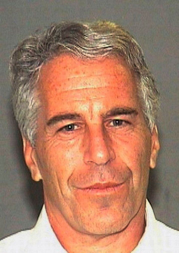 FILE - This July 27, 2006 arrest file photo made available by the Palm Beach, Fla., Sheriff's Office shows Jeffrey Epstein. H
